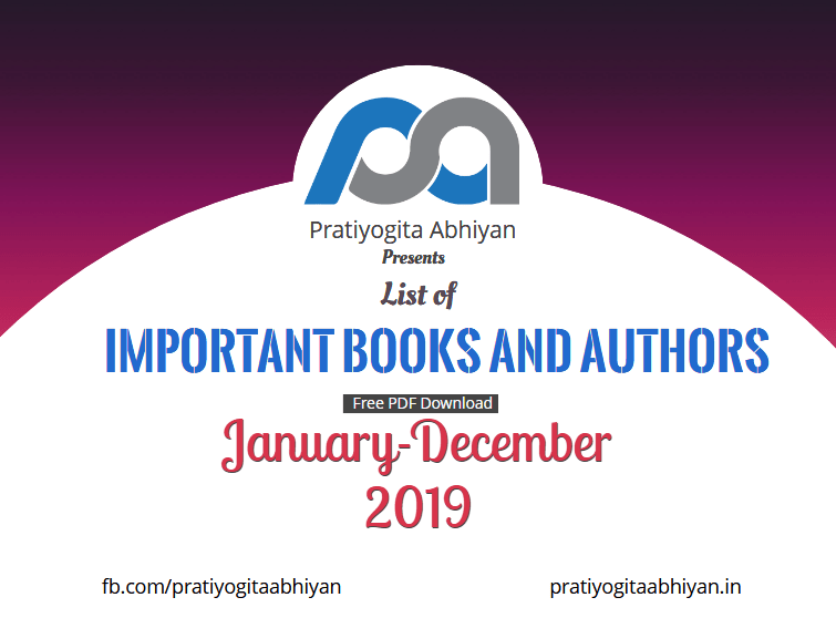Important Books and Authors of 2019