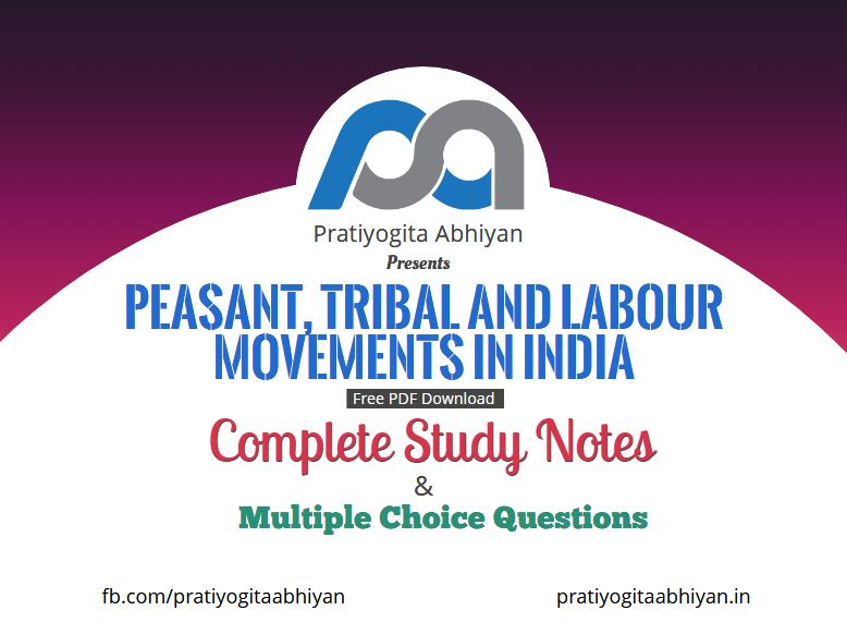 Peasant, Tribal, and Labour Movements in India