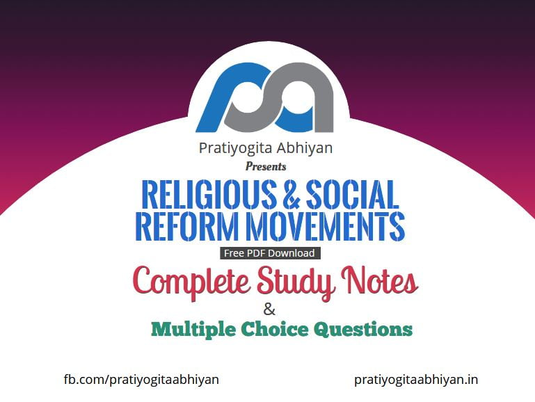Religious and Social Reform Movements (Notes+MCQ) PDF Download