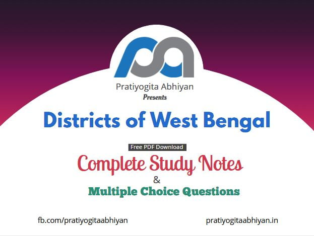 Districts of West Bengal Free PDF Download