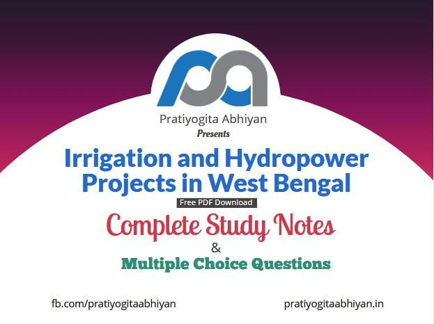 Irrigation and Hydropower Projects in West Bengal