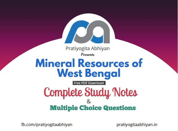 Mineral Resources of West Bengal