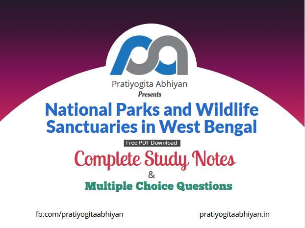 National Parks and Wildlife Sanctuaries in West Bengal Free PDF Download