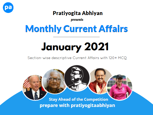 Current Affairs PDF Download: January 2021
